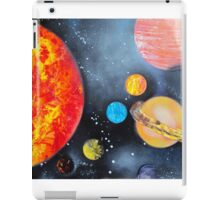 Spray Paint Art- Solar System iPad Case/Skin