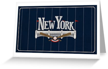 New York Baseball by scbb11Sketch