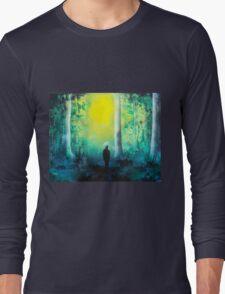 Spray Paint Art- Emerald Forrest T-Shirt