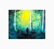 Spray Paint Art- Emerald Forrest Unisex T-Shirt