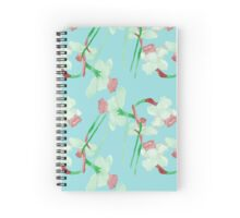 Watercolor summer pattern Spiral Notebook