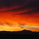 Sunrise Spectacle Over Mt. Baker... by Carol Clifford