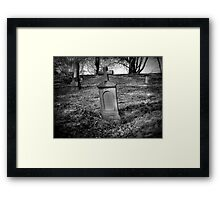 Una Peace  Framed Print