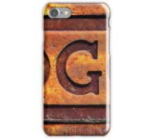 G Force iPhone Case/Skin