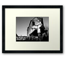 Demolition 2 Framed Print