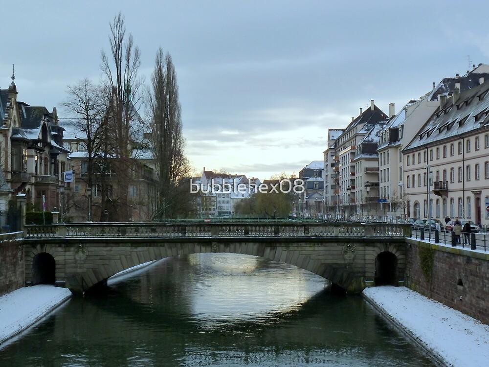 Winter in Strasbourg by bubblehex08