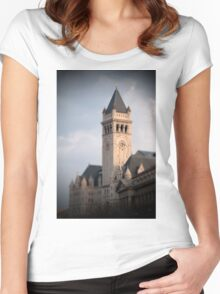The Old Post Office Pavilion Women's Fitted Scoop T-Shirt