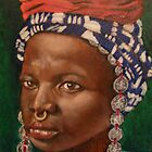 Fulani Woman of Mali by Stephen  Jamison