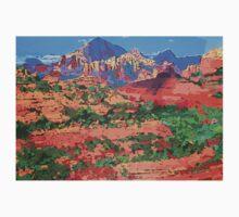 Sedona Arizona Red Rock Painting One Piece - Long Sleeve