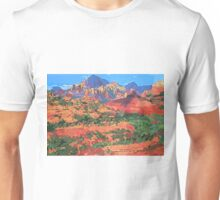 Sedona Arizona Red Rock Painting Unisex T-Shirt