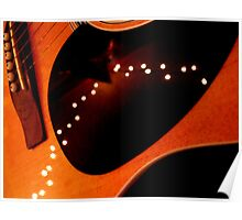 Twinkle Guitar Poster