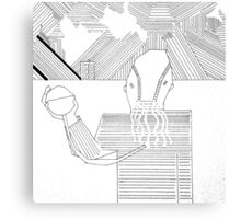 Ood in the Snow Canvas Print