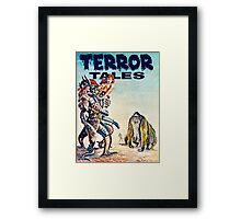Terror Tales - Textless Cover Art 1 Framed Print