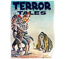 Terror Tales - Textless Cover Art 1 Poster