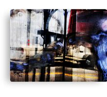 bryant street reflects Canvas Print