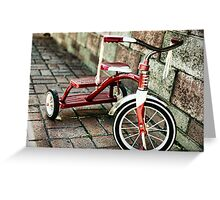 Radio Flyer Greeting Card