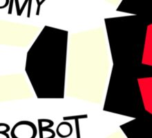 Anatomy of a Giant Robot Sticker