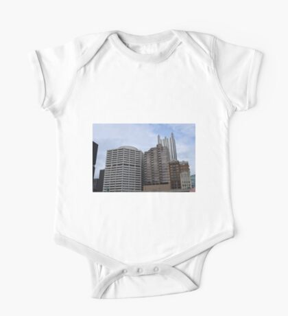 Pittsburgh Tour Series - Cityscape One Piece - Short Sleeve