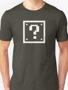 Question Mark Block Unisex T-Shirt