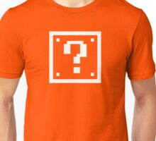 Question Mark Block Unisex T-Shirt