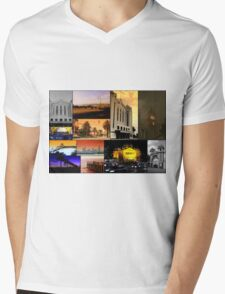 Cityscape  Mens V-Neck T-Shirt