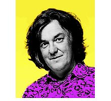 Top Gear Inspired Pop Art James May Photographic Print