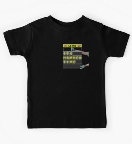 It's hammer time pit board message Kids Tee