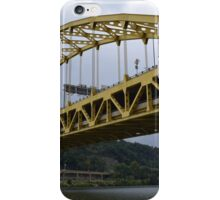 Pittsburgh Tour Series - Bridge from River iPhone Case/Skin