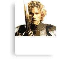 A knight's Tale Heath Ledger Metal Print