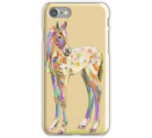 Foal paint iPhone Case/Skin
