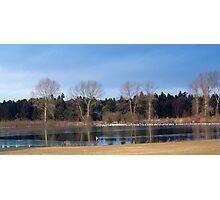 Lake at Mundford, Norfolk Photographic Print
