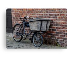 Delivery Bike Canvas Print