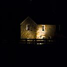 The Spring House at Night by ericseyes