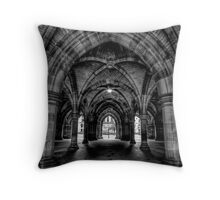 Dark Cloisters Throw Pillow