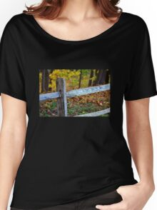 Fall Fence Women's Relaxed Fit T-Shirt