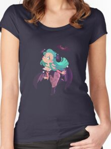 Morrigan Aensland Women's Fitted Scoop T-Shirt