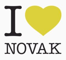 I ♥ NOVAK Kids Clothes