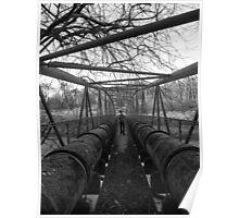 Water Pipe Bridge Poster