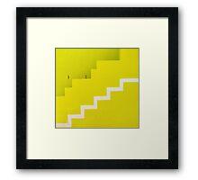 Lemon squares Framed Print
