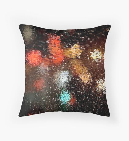 Sparkle & Fade Throw Pillow