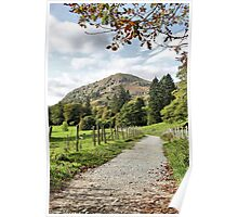 """Coffin Route"" towards Rydal Hall, Lake District, UK Poster"