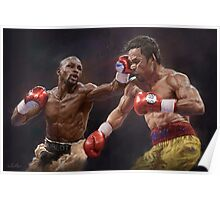 Floyd Mayweather vs Manny Pacquiao  Poster