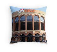 Citi Field Jackie Robinson Rotunda Entrance Throw Pillow
