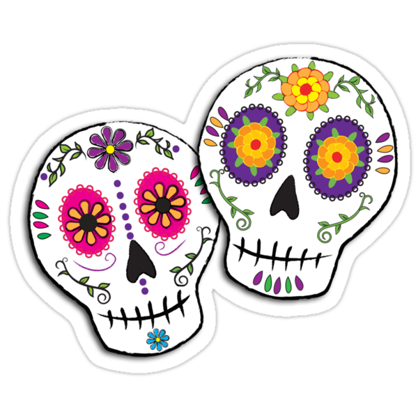 Sunshine Sugar Skulls by Tammy Wetzel