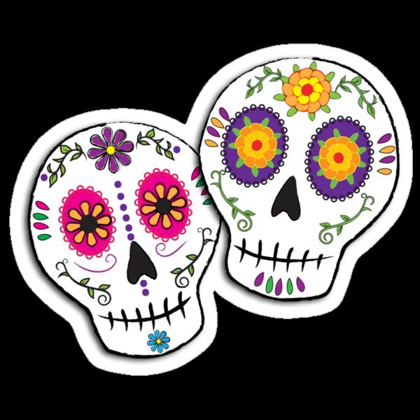 Sunshine Sugar Skulls by Tammy Wetzel