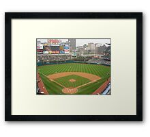 Jacobs Field, Home of the Cleveland Indians Framed Print