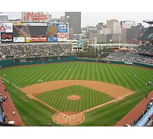 Jacobs Field, Home of the Cleveland Indians Photographic Print