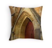 Christ Church, Castlemaine II Throw Pillow