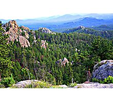View from Needles Highway Photographic Print