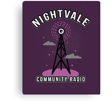 Welcome To Nightvale Radio Canvas Print